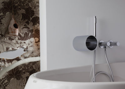 Bonomi - Tube Wall Mounted Bath SHower Mixer